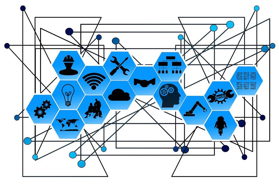 Основные элементы индустрии 4.0