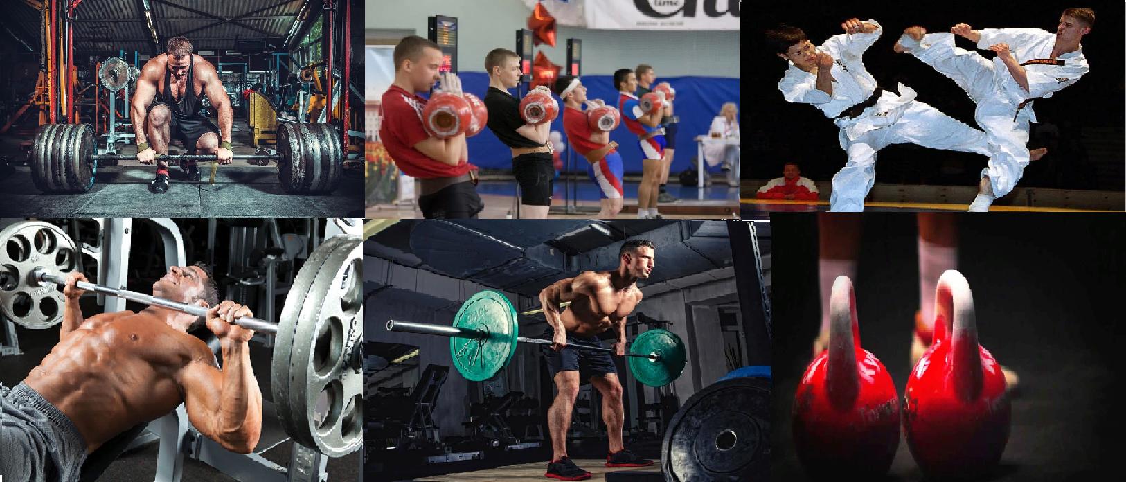 Силовые виды спорта и единоборства