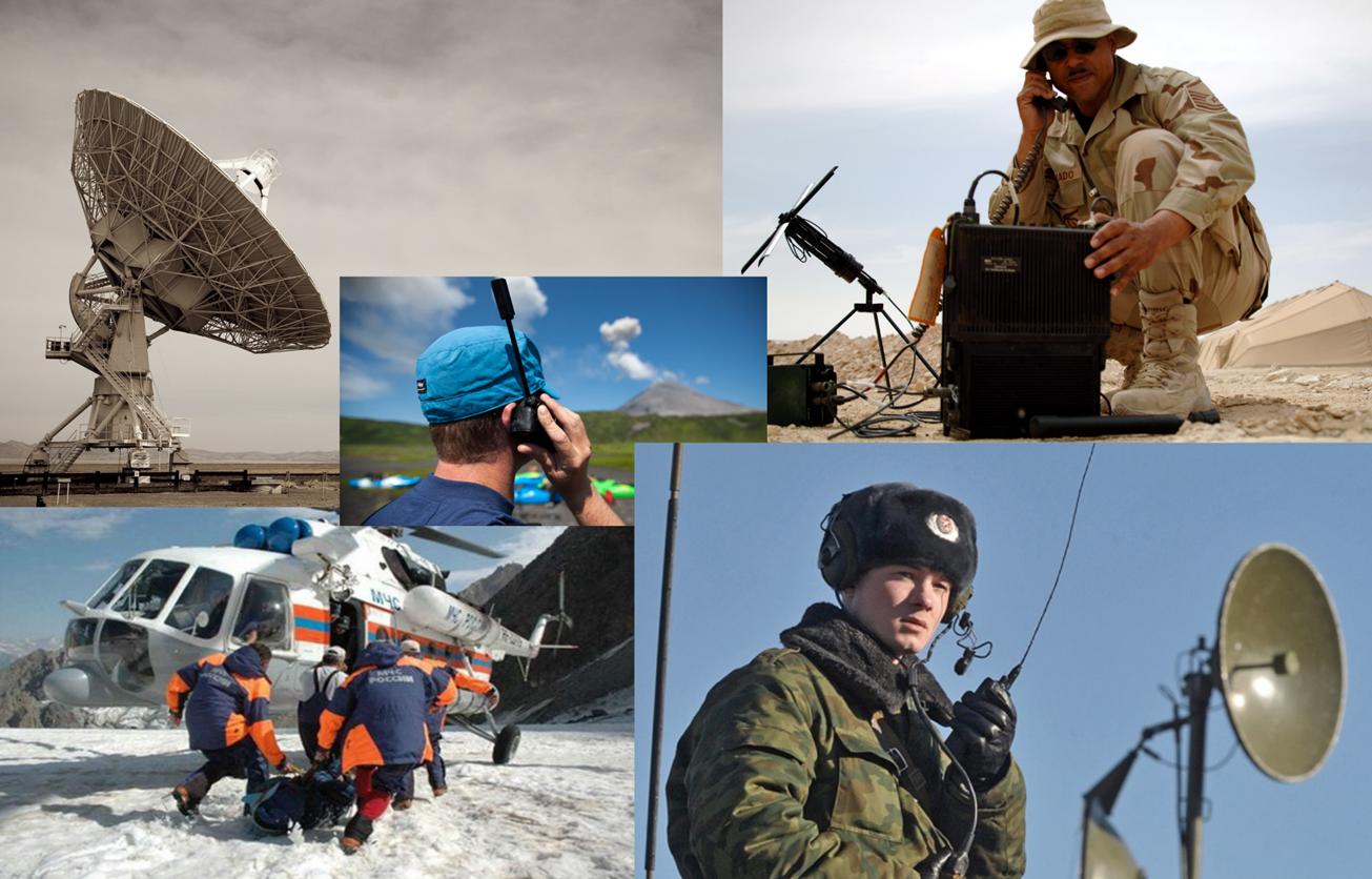 Антенные системы спутниковой связи